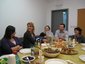 Diana's farewell party